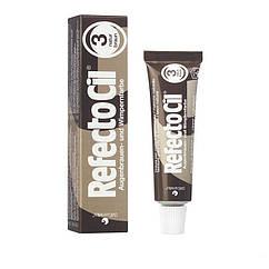 Фарба для вій та брів RefectoCil коричнева 15 мл
