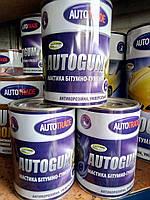 Мастика для авто Автотрейд резино-битумная AUTOGUM 2,4 кг, фото 1