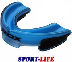Капа боксерская RDX GEL 3D ELITE blue
