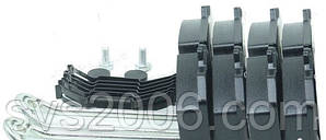 Колодка гальмівний. диск. (компл. на вісь) SAF 19,5 SKRB INTEGRAL (RIDER)