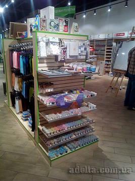 Экспопанели, экономпанели, торговое оборудование для магазинов товары для рукоделия