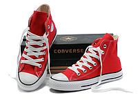 Кеды Converse ALL STAR красные высокие (Остались 38,43 Размер) Вьетнам, фото 1