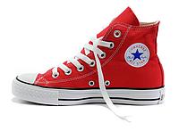Кеды Конверсы ALL STAR красные высокие 40, 43 размеры Вьетнам, фото 1