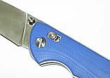 Нож Широгоров Табарган 100NS (Реплика) синий, фото 6