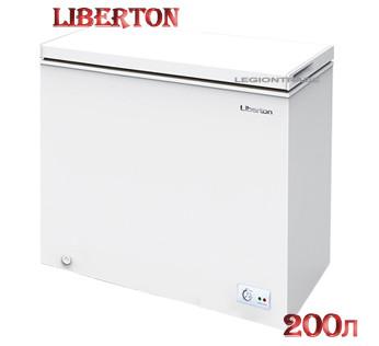 Морозильный ларь LIBERTON LCF-200MD на 200 литров