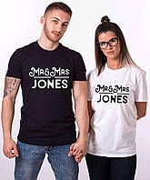 Парные футболки. Мужская и женская футболка. Mr and Mrs