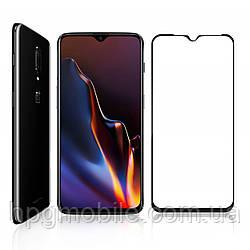 Защитное стекло 5D Full Glue на весь экран для OnePlus 6T (A6010, 6013), черный