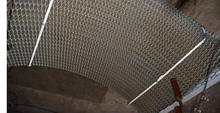 Просечно-вытяжной лист (ПВЛ)  3 х1000х2000 AISI 430 из нержавеющей стали.