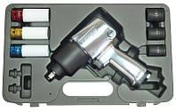 """Пневматический ударный гайковерт Forsage F-ST-5548-7  813Нм 1/2"""" с комплектом головок"""