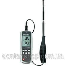 Термоанемометр VOLTCRAFT PL-135HAN (0,1 - 25 м/с; 0-99999 м3/мин; 0 - 50 С) Германия