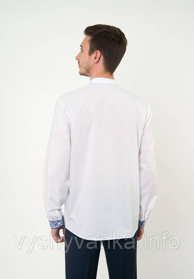 біла вишита сорочка чоловіча довгий рукав