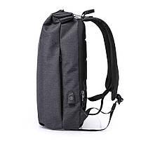 Деловой бизнес-рюкзак для ноутбука и планшета  Kaka 802 ЧЕРНЫЙ, фото 2