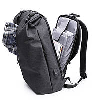 Деловой бизнес-рюкзак для ноутбука и планшета  Kaka 802 ЧЕРНЫЙ, фото 3