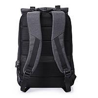Деловой бизнес-рюкзак для ноутбука и планшета  Kaka 802 ЧЕРНЫЙ, фото 7