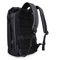 Деловой бизнес-рюкзак для ноутбука и планшета  Kaka 802 ЧЕРНЫЙ, фото 5