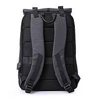 Деловой бизнес-рюкзак для ноутбука и планшета  Kaka 802 ЧЕРНЫЙ, фото 9