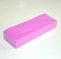 Полоски для депиляции - 100 шт/уп - розовые.Итальянская линия.