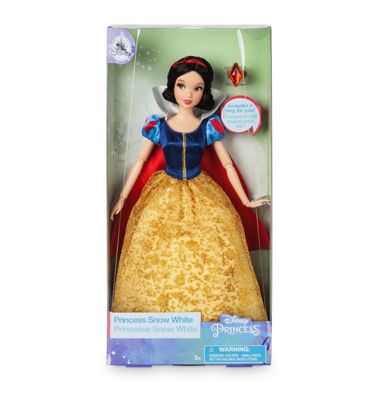 Кукла Белоснежка Disney Princess Snow White c кольцом