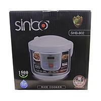 Мультиварка 12 программ Sinbo SHB-802/801 Турция, 6 л ,книга рецептов,1500 Вт