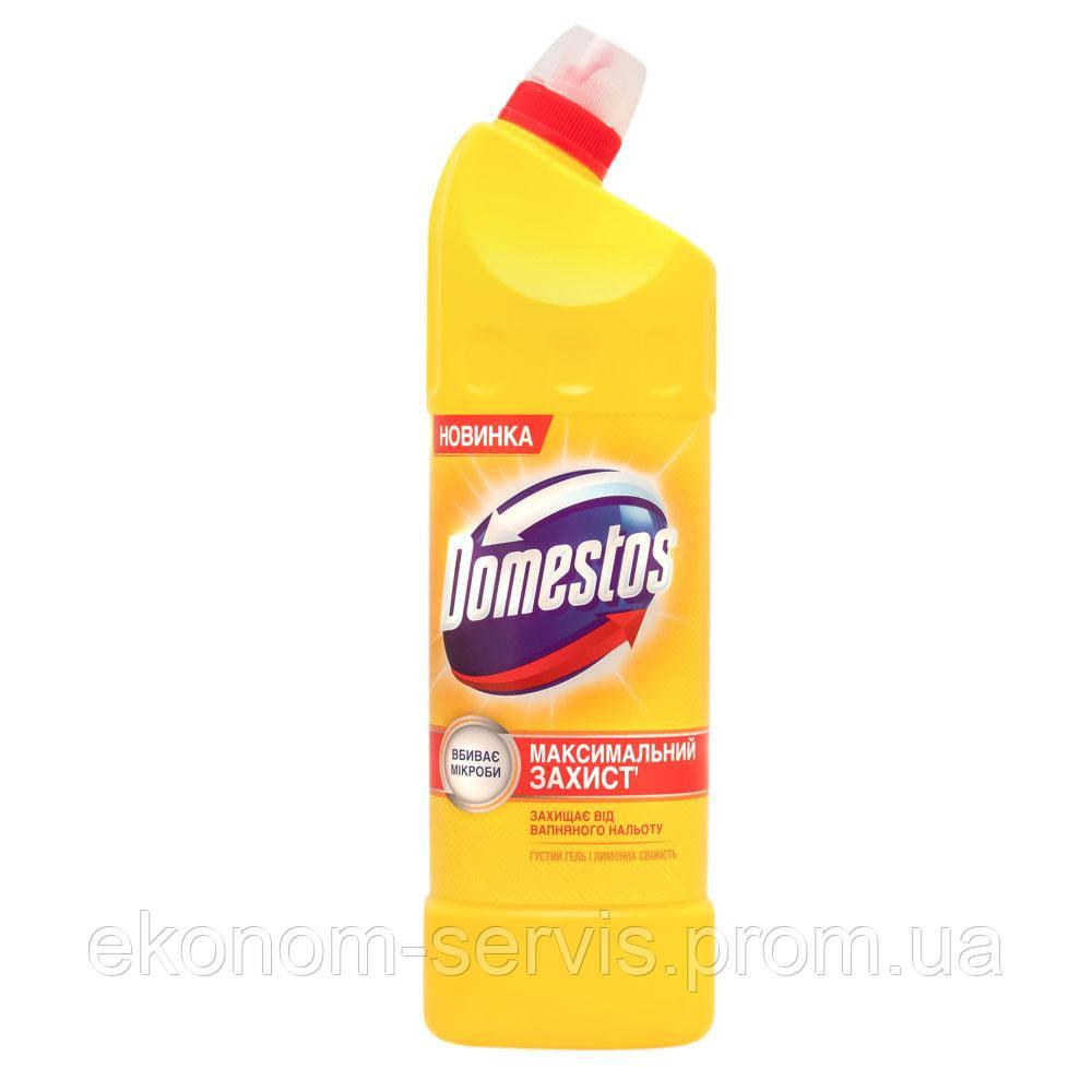 Засіб універсальний для чищення унітазу Domestos Лимонна Свіжість 24 години 1 л