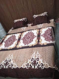 Стеганное покрывало на кровать  220 х 240 + 2 наволочки 50 х 70, фото 4