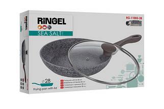 Сковорода с крышкой Ringel Sea Salt 28 см RG-11003-28, фото 3