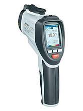 Пирометр-регистратор со встроенной камерой Voltcraft IR-1600 CAM (50:1, -50...1600 °С) с термопарой. Германия