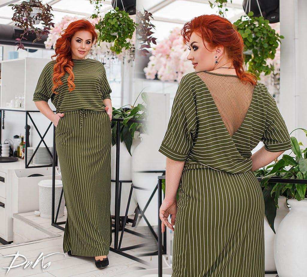 Платье женское 41284дг батал
