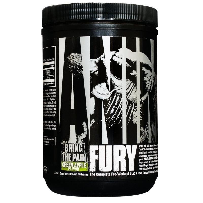 Universal Nutrition Animal Fury 480 грамм -  30 порций!
