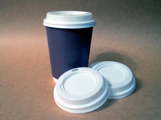 Крышка для картонного стакана одноразовая 425 мл диам. 88 мм ( 50 шт)