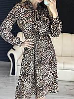 Леопардовое платье весна- лето. Тренд 2019года!