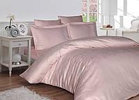 Комплект постільної білизни First Сһоісе Lappy жакардовий 220*200 см рожевий