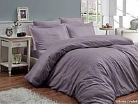 Комплект постельного белья First Сhoice Athena leylak жаккардовый 220*200 см лиловый