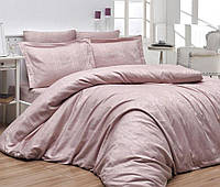 Комплект жаккардового постельного First choice евро размера