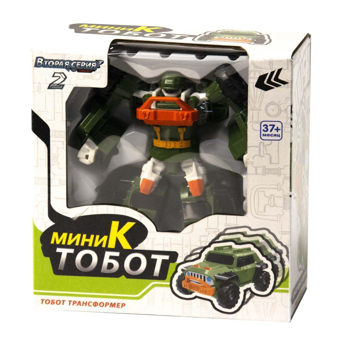 Машина-трансформер Тобот K мини