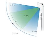 Ubiquiti Unifi Mesh Antenna (UMA-D) Антенна Wi-Fi секторная для UAP-AC-M на 45-90 градусов 2,4 и 5 Ггц, фото 4