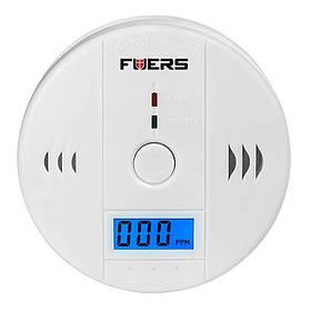 Датчик угарного газа бытовой Fuers JKD6021 сигнализатор 02228, КОД: 146677