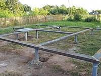 Фундамент для каркасных домов на винтовых сваях., фото 1