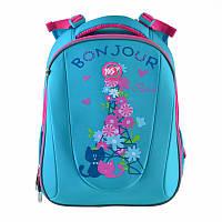Рюкзак школьный каркасный Yes H-28 Bonjour (557734)