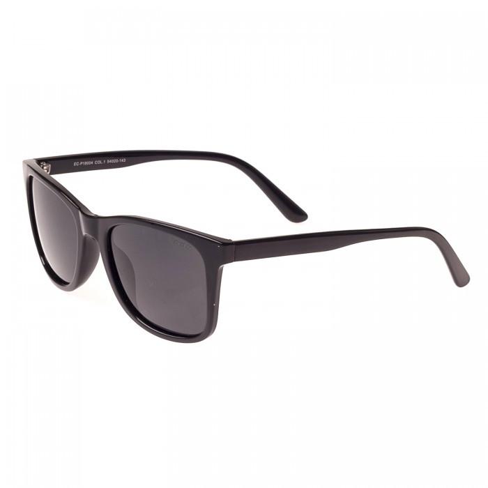 Солнцезащитные очки форма-Квадратная Мужские цвет Черный Enrique Cavaldi поляризационная линза ( P18004-01)