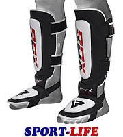 Накладки на ноги, защита голени RDX Leather, размер М,L,XL