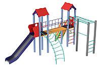 Детский комплекс Универсал, высота горки 1,8 м