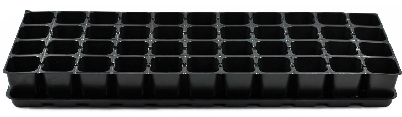 Кассета пластиковая на 44 ячейки с поддоном