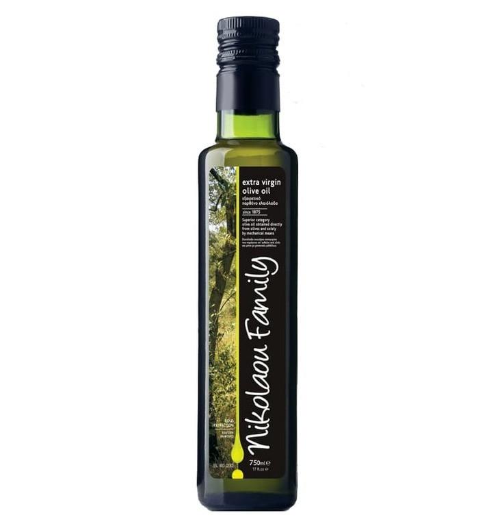 "Оливковое масло ""Nikolaou Family"" Extra Virgin 250 мл, Греция"