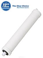 """Линейный керамический картридж типа «Свеча» 2"""" x 10"""" AquaFilter FCCER-CT резьбовой"""