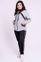 Спортивный костюм Альфа (серый)(52-64), фото 1