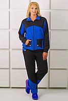 Спортивный костюм Бонита (электрик)(54-64), фото 1