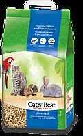 """Древесный наполнитель для животных и птиц """"Cat's Best Универсал"""" (4 кг.) Rettenmaier™"""