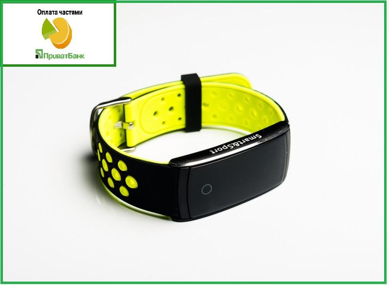 Фитнес-браслет с ТОННОМЕТРОМ Smart Sport Q8 Желтый (FT115BV00H01)