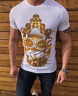 8551b0285f37f Мужские футболки Versace в Украине. Сравнить цены, купить ...